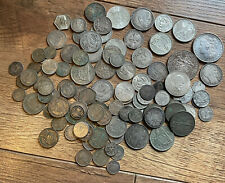More details for world lots of silver coins 486 grams scrap or collect