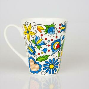 Mug - Folk Pattern - Kashubian  / Kubek FOLK  - Kaszubski