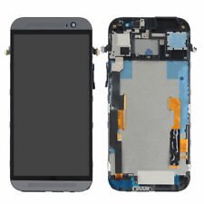 Pour HTC One M8 LCD Display Écran tactile Digitizer Assembly Frame Black handy02