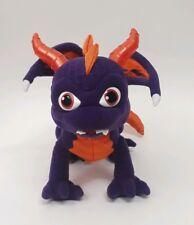 "2012 Skylanders Spyro Purple Dragon 12"" Wings Just Play - Talks & Horns Light Up"