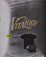 Pearl Jam Vitalogy BestBuy Limited Edition Collector's box exclusive CD+ T-SHIRT