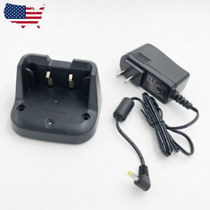 US SBR-24LI Battery Rapid Charger For YAESU FT-70D FT-70DR FT-70DS Two Way Radio