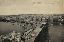 Algier Alger Algerien al-Dschazā'ir AK ~1910 Vue panoramique Panorama Hafen Port