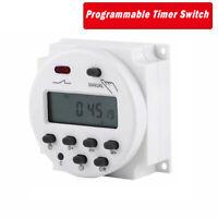 CN101A 12V-220V  Relè Interruttore Digitale Power LCD Timer Programmabile