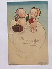 Adorable Vintage 1914 Pop Up Kewpie Postcard Oh the Sights We've Seeing!