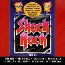 V/A - Shock Rock 4-CD SET NEW Joan Jett, Scott Ian, Bill Mumy, David J. Schow