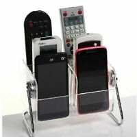 Acrylic TV Remote Control Holder Organizer for Table Storage Home Tidy & Clean