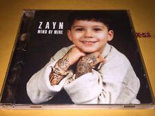 ZAYN malik (ONE DIRECTION) solo MIND OF MINE cd #1 hits PILLOWTALK kehlani