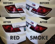 2014 2015 Honda Civic Sedan Overlay Tail light Tint. Red or Smoke Color JDM SI
