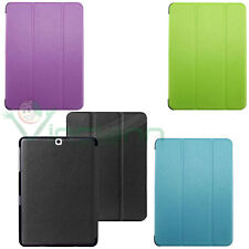 Pellicola+Custodia Smart cover pr Samsung Galaxy Tab S2 8.0 T710 T715 case stand