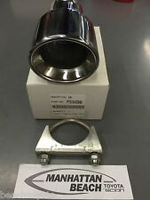 2004-2006 XB STAINLESS EXHAUST TIP-GENUINE SCION ACCESSORY BY VALOR