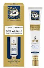 RoC Retinol Correxion Deep Wrinkle Daily Mosisturizer SPF 30 1.0 oz