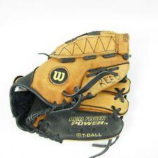 """Wilson A0425 Ez 10 Dual Finger Power T-Ball Glove Mitt Rht Easy Catch Web 10"""""""