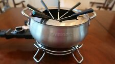 Cuisinart CFO-3SS Electric Fondue Maker - Brushed Stainless Steel - New Open Box