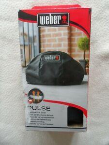 Weber 7180  Barbecue BBQ Grill Cover Premium  Pulse 1000  Black  BNIB