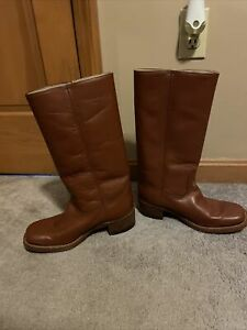 Vintage Frye Campus Boots - size 9 Women's