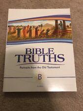 BJU Press - Biblical Truths Portraits from the OT - Brand New ($25 Value)
