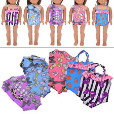 Fashion Handmade Clothes Swimwear Swimsuit for 18 inch American Girl Doll Gifts