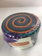 Kanvas Studio Butterfly Jewel Berry Strip-Pies 40 2.5-inch Strips Jelly Roll Benartex