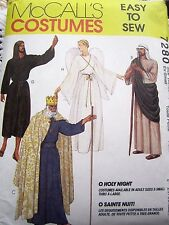 "7280 SEWING PATTERN~UNCUT~MENS&WOMEN&TEENS SIZE CH 30""-32""-COSTUME:JESUS&MARY+"
