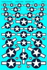Us Army Air Corps Ww2 Aircraft Insignia (1/48 decals, Fantasy Printshop 714)