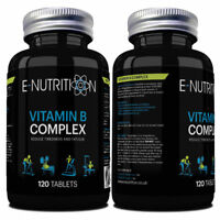 VITAMIN B COMPLEX 120 TABLETS | RUDUCE TIREDNESS & FATIGUE | HUGE 4 MONTH SUPPLY