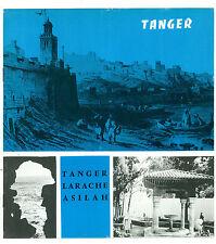 TANGER LARACHE ASILAH MAROC MAROCCO AFRICA VIAGGI 1963 PUBBLICAZIONE TURISTICA