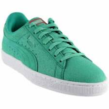 Puma Suede Caribbean Reef Sneakers Casual    - Green - Mens