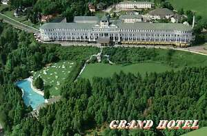 Aerial View of Grand Hotel, Mackinac Island, Michigan,Somewhere in Time Postcard