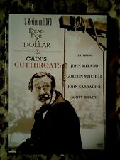 Dead for a Dollar & Cain's Cutthroats - 2-Western Movies on 1 Dvd