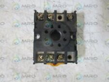 OMRON PF083A RELAY SOCKET * USED *
