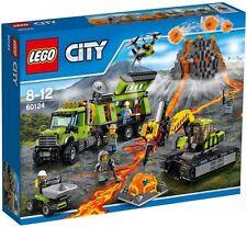 LEGO CITY 60124 BASE DELLE ESPLORAZIONI VULCANICA NUOVO NEW