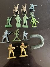 Ww2 Plastic Soldier Selection- Cherilea / Unbranded- 14 Items - German Us Army