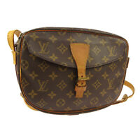 LOUIS VUITTON JEUNE FILLE MM SHOULDER BAG PURSE MONOGRAM M51226 TH8909 A50400
