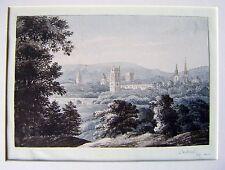 SARAH GOLDEN (4) AN EXTENSIVE VIEW OF OXFORD  C. GOLDEN  W/COL 1840