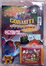 Gormiti Magazine n°9 serie 1 sigillato + portafogli + gormita Schienacciaio
