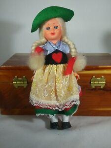 """Vintage 6"""" German Sleepy Eye Doll"""