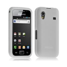 housse coque silicone Samsung Galaxy Ace S5830 couleur blanc