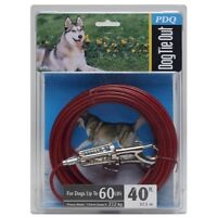 Boss Pet Products Q3540 SPG 99 Cable Dog Tie Out 40' Large
