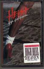 HEIST: HIGH HEEL HEAVEN CASSETTE PROMO HARD ROCK HAIR METAL
