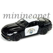 AUTOWORLD CP7475 2017 FORD MUSTANG CALIFORNIA HIGHWAY PATROL POLICE CAR CHP 1/64