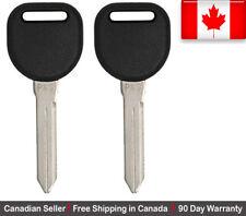2x New Transponder Ignition Key For Chev Buick Cadillac Pontiac Oldsmobile PK3