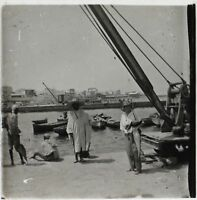 Africa A Port Foto Placca Da Lente Stereo Positive B Vintage Ca 1930
