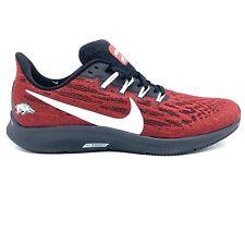 Nike Air Zoom Pegasus 36 Arkansas Razorbacks CI2077 600 Men's Sneakers Size 10.5