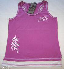 Holden Special Vehicles HSV Ladies Mauve Printed Racer Back Singlet Size 12 New