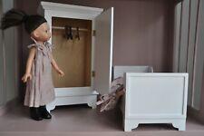 Dolls Wardrobe bed bedding furniture for Paola Reina Maileg