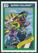 1990 Marvel Universe Series 1 Trading Card #74 Green Goblin