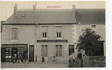 ROLAMPONT Haute Marne CPA 52 Magasin Horlogerie bijouterie et postes telegraphes