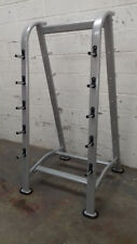 Barbell Storage Rack - Double sided Stand for 10 Barbells or Curl Bars