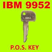 Ibm 9952 Cash Register Point Of Sale Key 9952 Key Manager Key Ships Fast